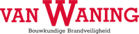 Van Waning bouwkundige brandveiligheid Logo